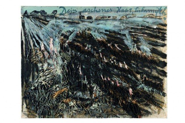 Dein aschenes haar, Sulamith/ Dit askegrå hår  Sulamith, 1981. (Collection Sanders, Amsterdam)