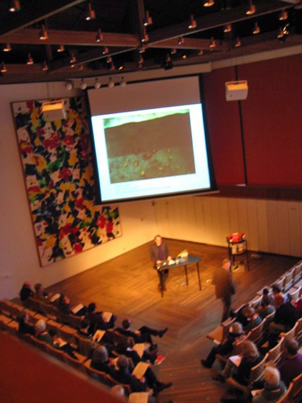 Jacob Wamberg leverer sit oplæg under seminariet. (Foto: Pernille Rom Bruun)