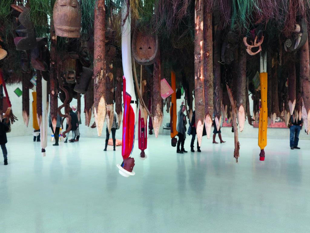 Pascale Marthine Tayou, Things Fall Apart, courtesy Bildrecht Wien og Kunsthaus Bregenz