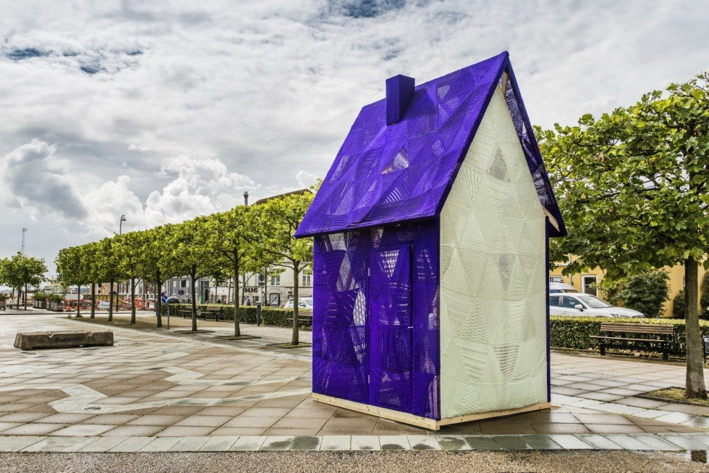 Isabel Berglund: Det lilla hus i Fredericia. Pressefoto