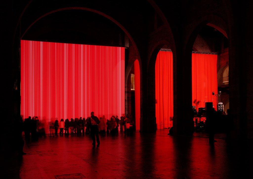 Heimo Zobernig: Utan titel, 2009 Installationsbild. CAPC, musée d'art contemporain, Bordeaux 2009 photo archive HZ