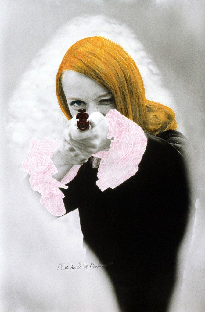 Niki de Saint Phalle: DADDY (FAR) film still af Peter Whitehead med farveretouchering, 1972 © 2015 NIKI CHARITABLE ART FOUNDATION, All rights reserved. Foto: Schamoni Film