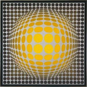 Eye Attack: Op Art og kinetisk kunst 1950-1970