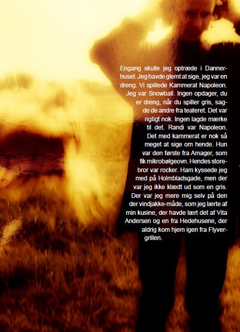 Tomas Lagermand Lundme: Engang skulle jeg optræde i Dannerhuset, 2015. Plakat.