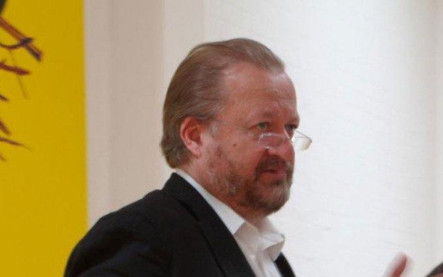 Krads Bjørn Nørgaard på kunstens 1. maj-møde