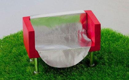 Kalejdoskopisk installation på skulpturi.dk