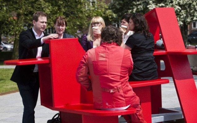 LYNfabrikkens byrumsmøbel vinder international designpris