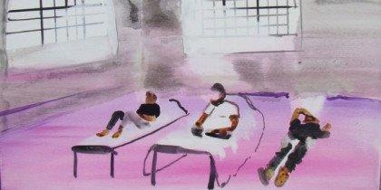 Kunstauktion for irakerne
