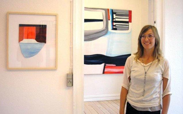 Galleri Udengaard viser Julie Sass i udstillingen Square One