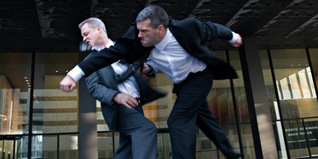 BUSINESS MEN som moderne metafor