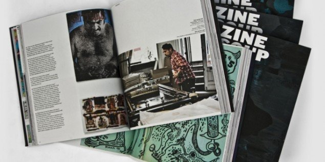 Zines i coffee table-format