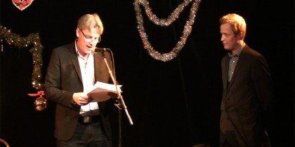 Jes Stein og Jacob Fabricius deler Statens Kunstråds Formidlingspris