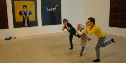 Fremsynet kunstformidling for børn på Esbjerg Kunstmuseum