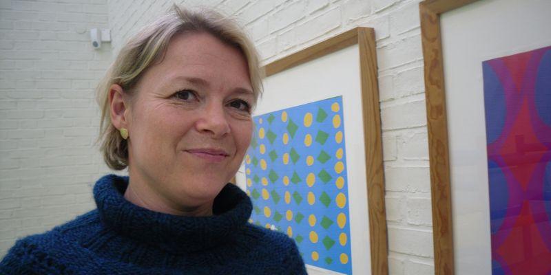 Gitte Ørskou inviterer hjem til kunsten