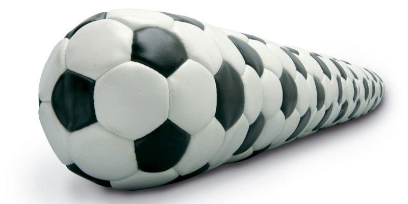 Fodboldkunst i Kunsthallen Nikolaj
