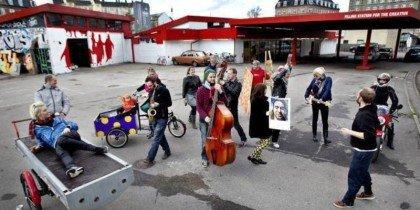Nedlagt tankstation blev til kunsttank på Nørrebro
