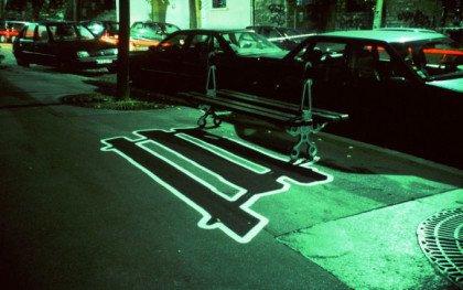 Fransk graffiti på Glyptoteket