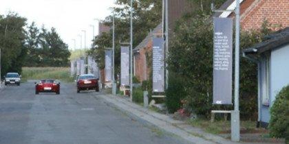 Nees-Skalstrup får kunst-bannere