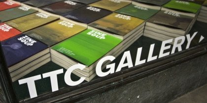 Minikunstbog-festival i TTC Gallery