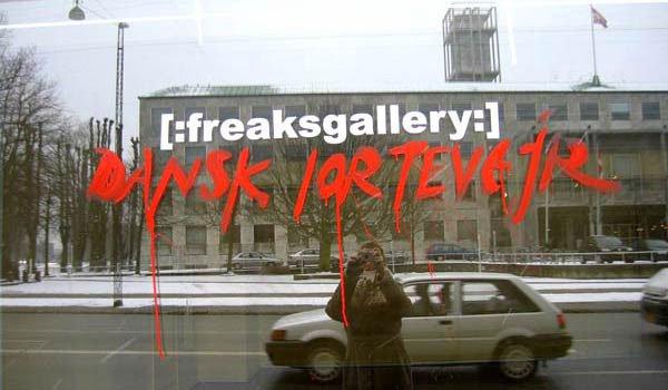 Freaksgallery på Rådhuspladsen i Århus