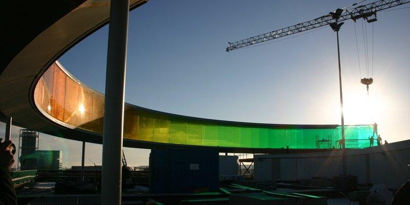Your Rainbow Panorama under opbygning