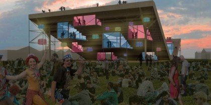 Nyt arkitektonisk vartegn til Roskilde Festival 2011
