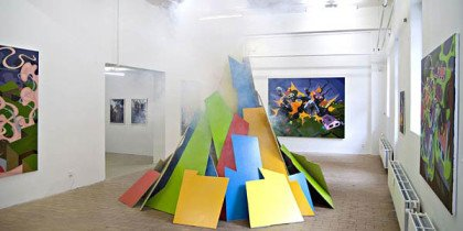 Eske Kaths leg med døden indvier Charlotte Fogh Contemporarys nye lokaler