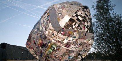 Hjælp med at skabe ballonkunst til Roskilde Festival