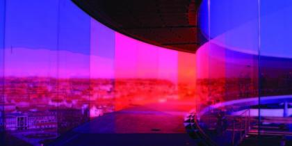 Regnbuen på Aros åbner