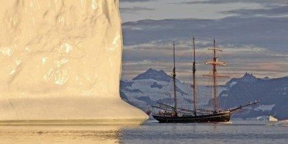 Kunstnere på sejlekspedition