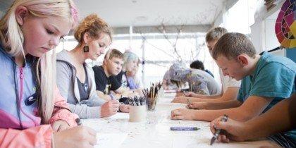 Kreative møder mellem børn og kunstnere