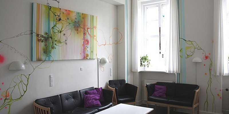 Kunst på Psykiatrisk Center