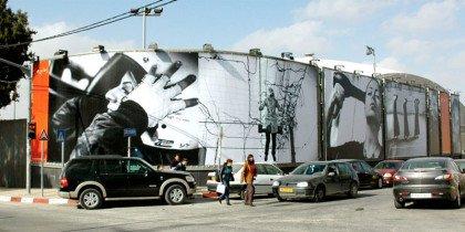 Billboard-projekt i Ramallah