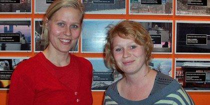 Malene Ratcliffe og Lotte Juul Petersen