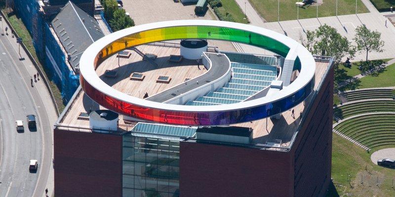 Donation til udbygning af regnbuen på ARoS kunsten.nu