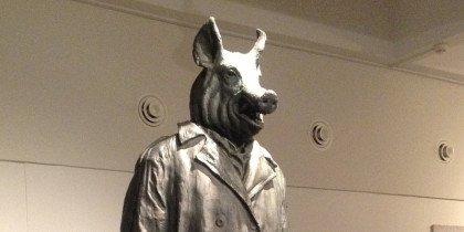 Politiske brandtaler støbt i bronze