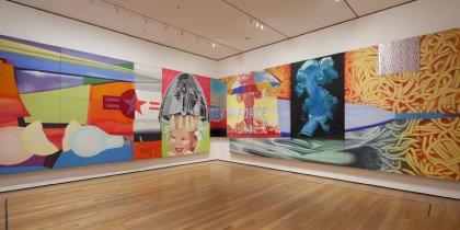 Mytisk krigsmaleri genoplivet på MoMA