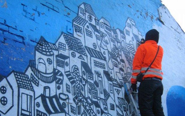 Foredrag om graffiti og street art