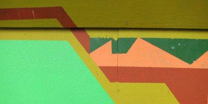 Spontan kunst styret af graffiti