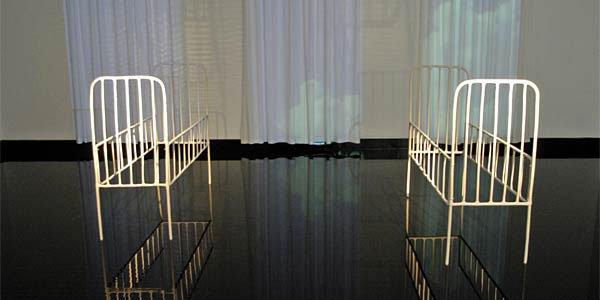 Maj-Britt Boa og Eva Steen Christensen på Horsens Kunstmuseum
