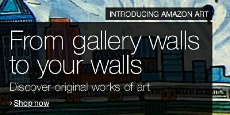 Amazon Art – fyld indkøbskurven med kunst!