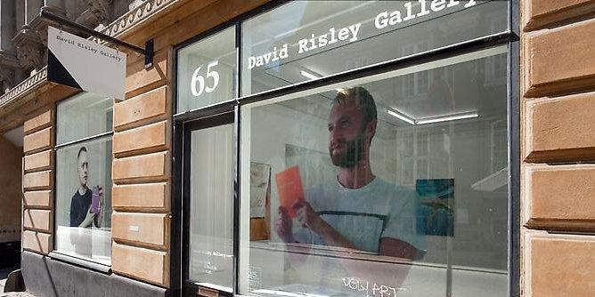6 x solo i David Risley Gallery