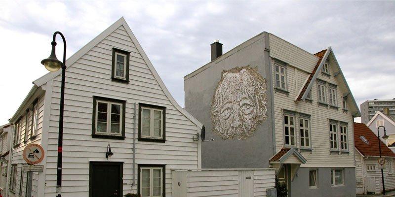Street art i olielandet