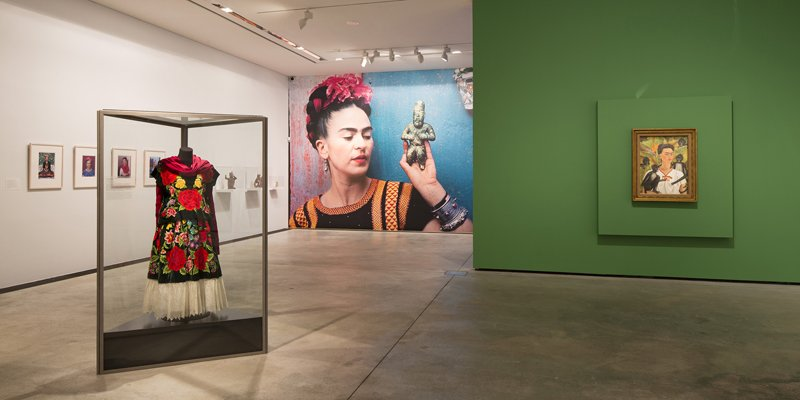 Frida Kahlo som performancekunstner