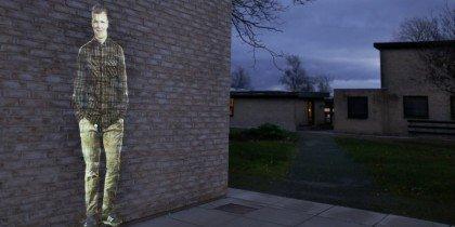 Danmarks første permanente udendørs videoinstallation