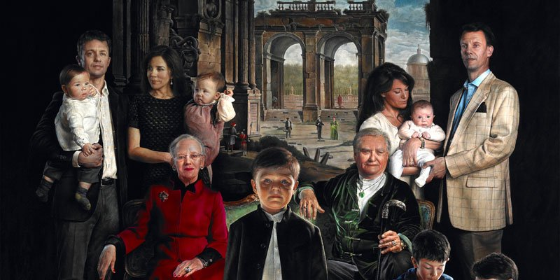 En fremmedgjort kongefamilie