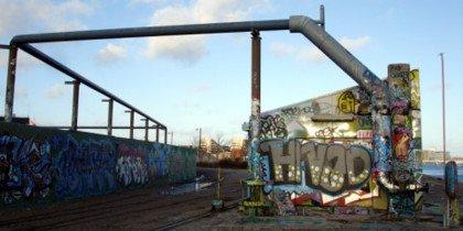Graffitioase i Sydhavnen lever på lånt tid