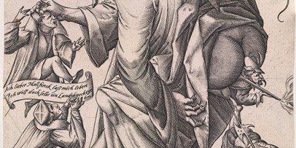 Religionssatire på Storm P. Museet