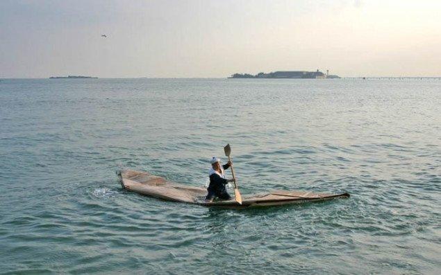 Venedig: Peter Callesen på usikker grund