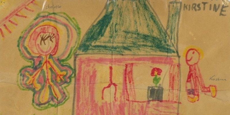 Fra børnetegning til moden kunstner